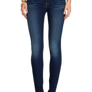 7 For All Mankind Low Rise Skinny